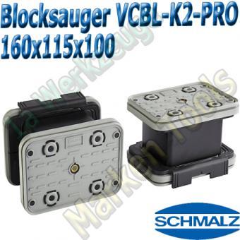 Schmalz CNC Vakuumsauger VCBL-K2-PRO 160x115x100  160x115mm