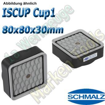 Schmalz Innospann Sauger-Cup ISCUP Cup-1 80 x 80 mm Höhe 30 mm