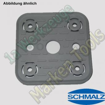 Schmalz Saugplatte VCSP-O 120x120x16.5 für Vakuum Sauger
