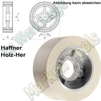 Vorschubrollen 110 x 50 mm x Ø35mm Haffner Holzher