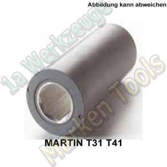 Vorschubrollen für Martin Dickenhobel T31 und T41 grau Ø74mmx205mm Sechskannt 41mm