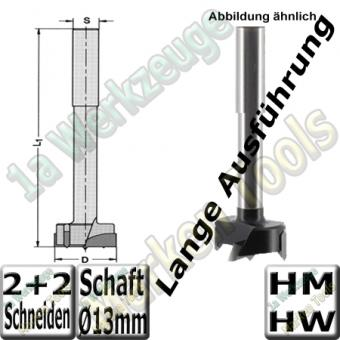 Zylinderkopfbohrer HM HW Z2+V2 Ø20x140mm S=13