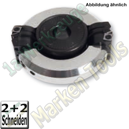 Ø164x50x30 Synchron Schwenkmesserkopf Z2 V2+2 75°