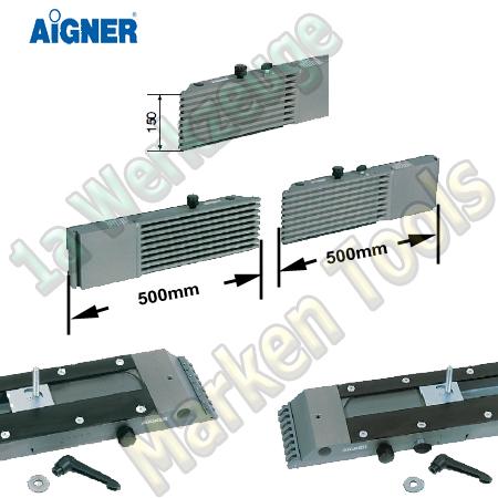 Aigner Integralanschlag für Tischfräse 500mm 500mm x 150mm