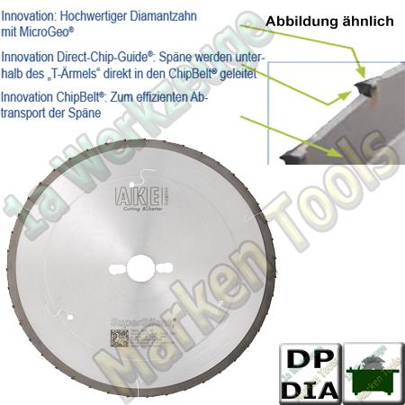 AKE SuperSilent Ø 303x2,4x1,8x30mm Z=43 für vertikale Plattensägen