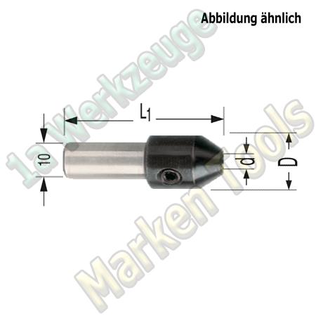 Bohreraufnahme 2mm S=10mm