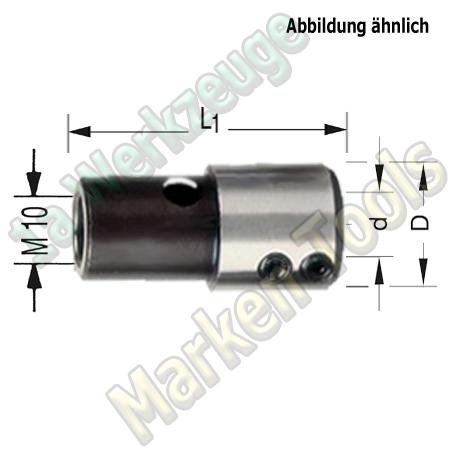 Bohrfutter Spannfutter M10 I;10mm