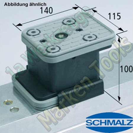 CNC Schmalz Vakuum-Sauger VCBL-K2 140x115x100  140x115mm