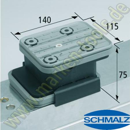 CNC Schmalz Vakuum-Sauger VCBL-K2 140x115x75  140x115mm