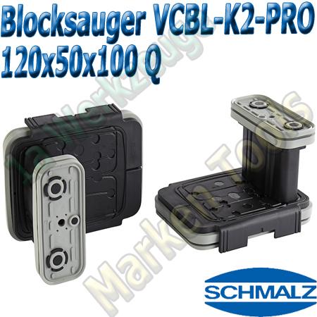 CNC Schmalz Vakuum-Sauger VCBL-K2-PRO 120x50x100 Q 160x115mm