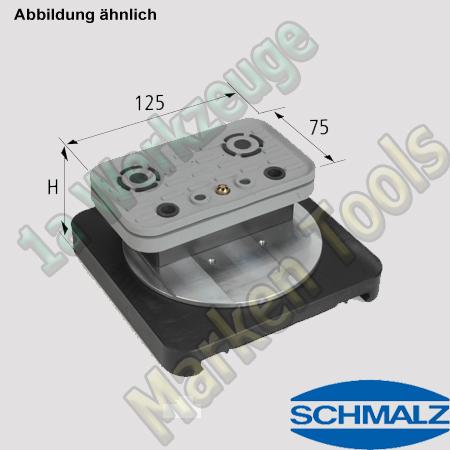 CNC Schmalz Vakuum-Sauger VCBL-S4 125x75x50 360° z.B. Morbidelli SCM