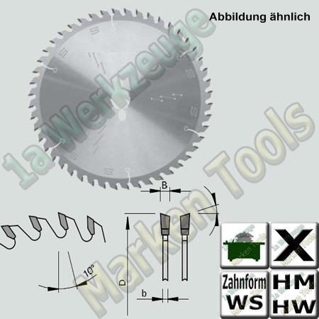 HM HW Besäum- und Fertigschnitt- Sägeblatt Ø 180x3.2x2.2x30mm Z=54 WS NL 2/7/42
