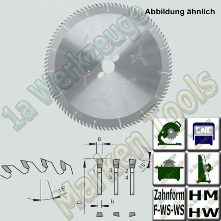 HM HW Format- Sägeblatt Stehle Ø350x3,0x2,2xØ30 Z=100 F-WS-WS  NL Combi3