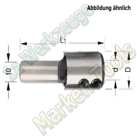 Spannfutter 10x30mm / 10mm