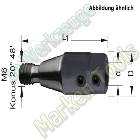 Spannfutter M8 ZK 10mm